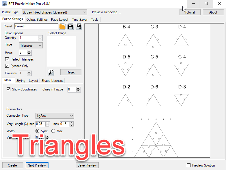 Jigsaw 034 - Triangles Pyramid Puzzle Page.png