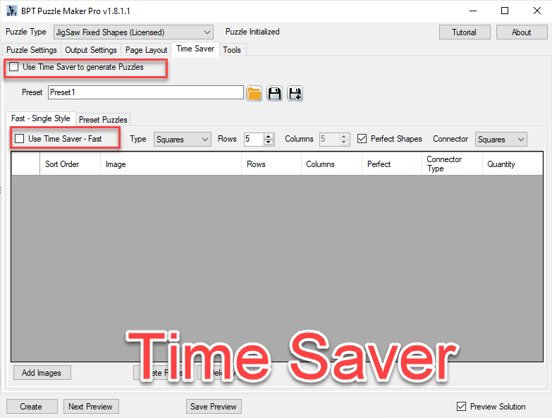 Jigsaw 040 - Time Saver Overview.png