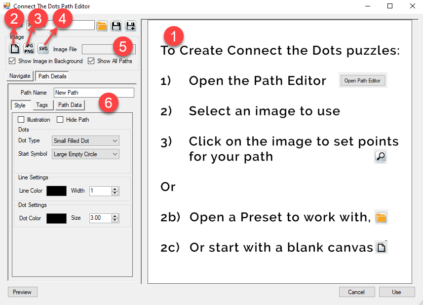PMP - Connect-the-Dots-101-Path Editor.png